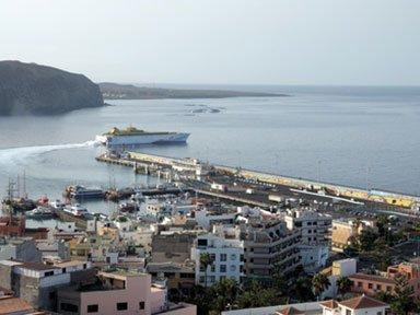 Hafen in Los Cristianos