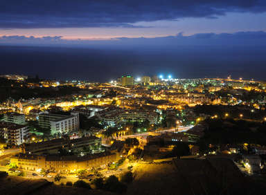 Hotels bei Nacht in Puerto de la Cruz