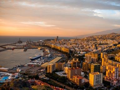 Blick auf Santa Cruz de Tenerife