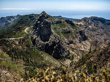 La Gomera Gebirge